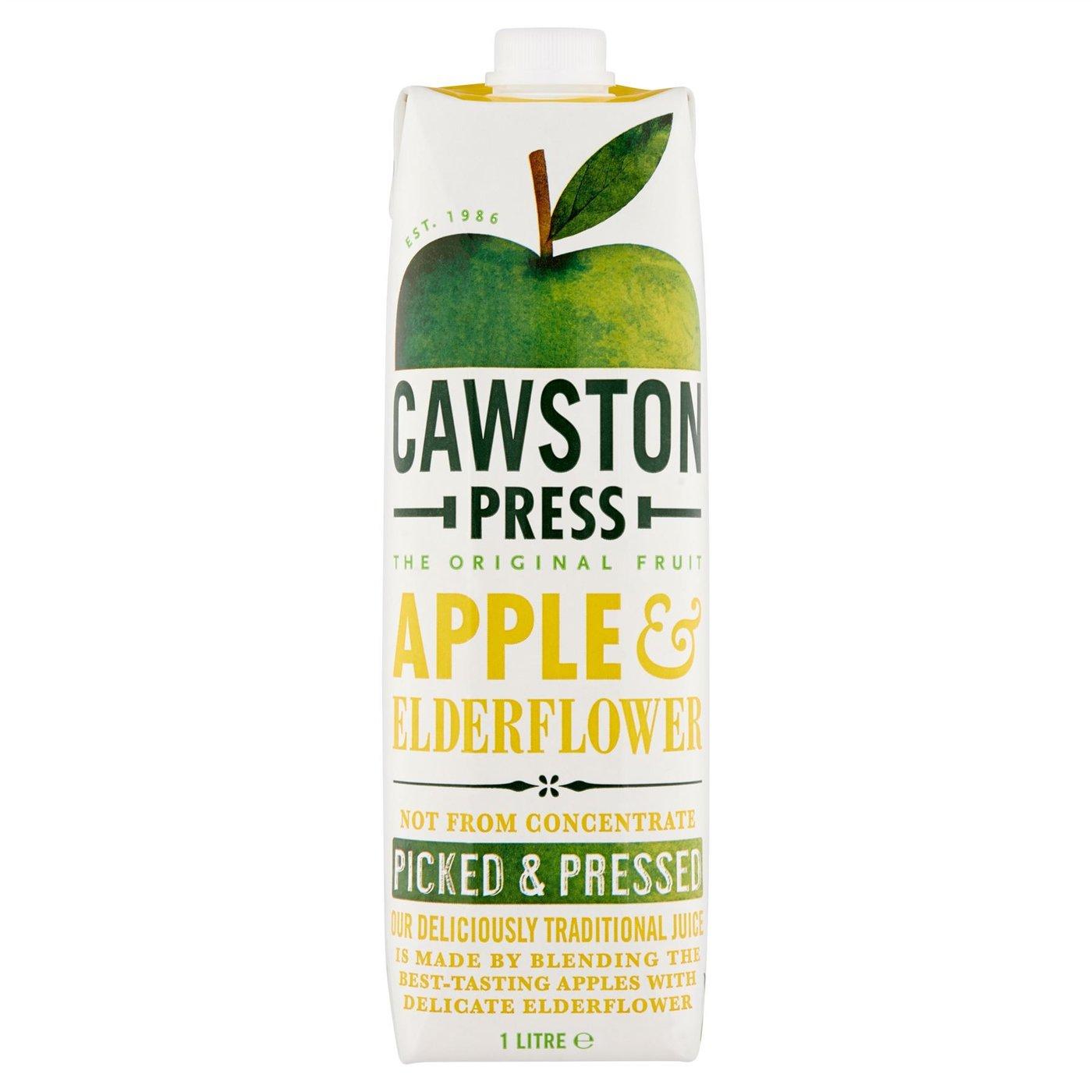Cawston Press Apple & Elderflower Juice 1litre