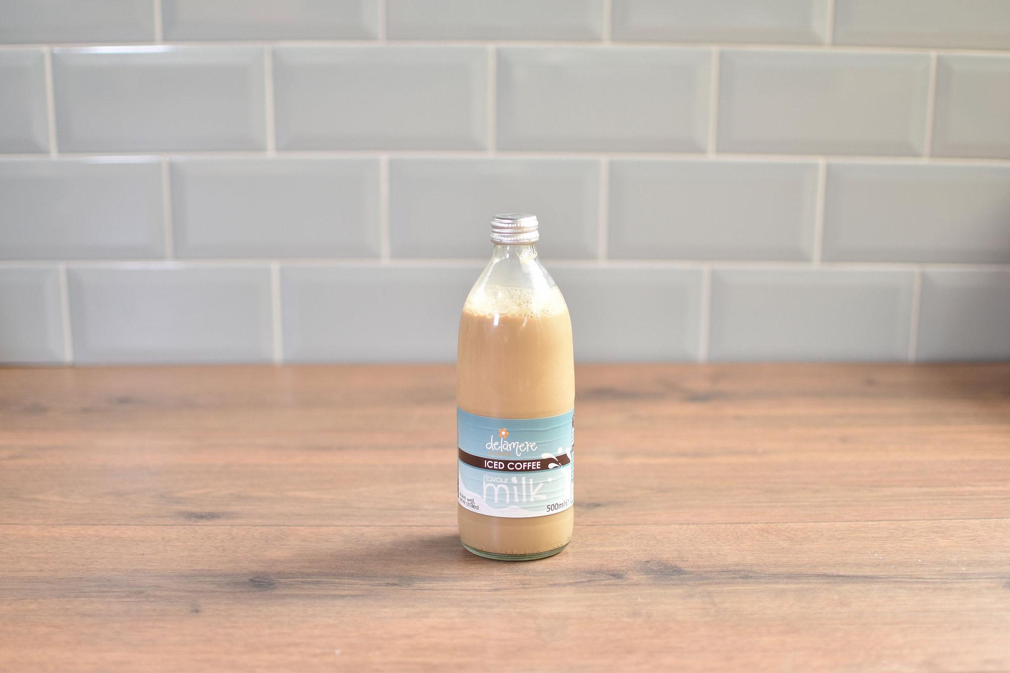 Delamere Coffee Latte Milk - 500ml Glass Bottle