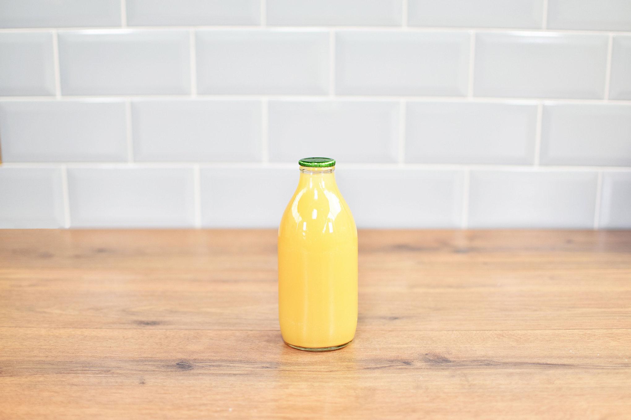 Glass Bottled Apple Juice - 1 pint