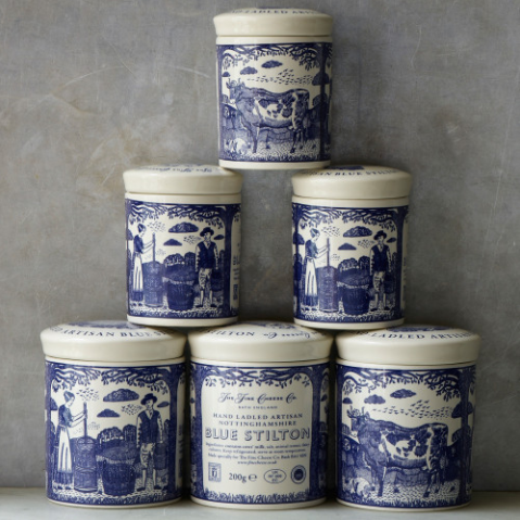 The Fine Cheese Co. Ceramic Stilton Pot - 200g