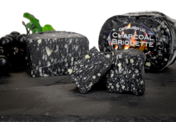 Charcoal Briquette Cheese - 220g