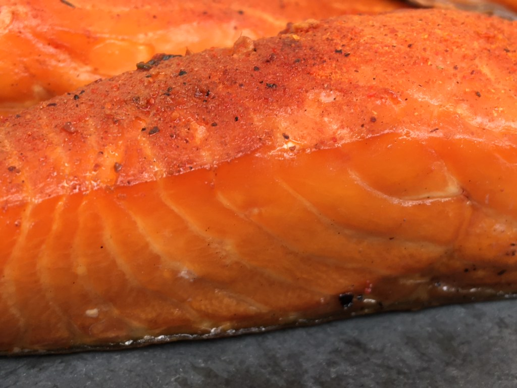 Blakewell's Hot Smoked Salmon Fillets - 120-140g
