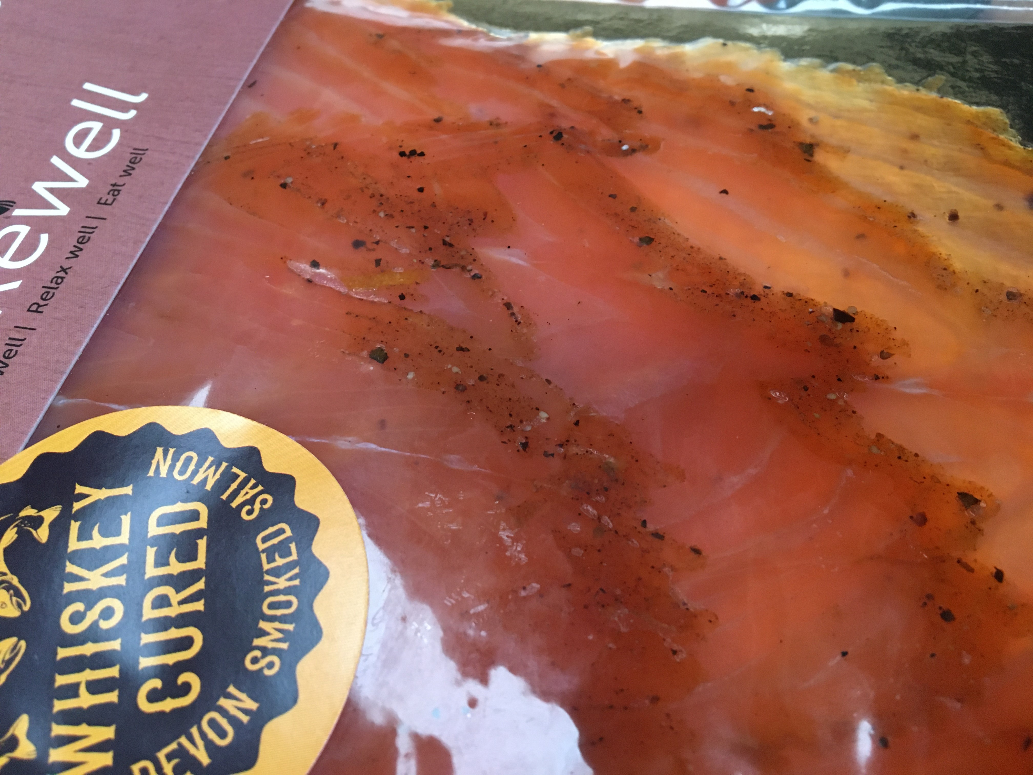 Blakewell's Whiskey Cured Smoked Salmon - 100g