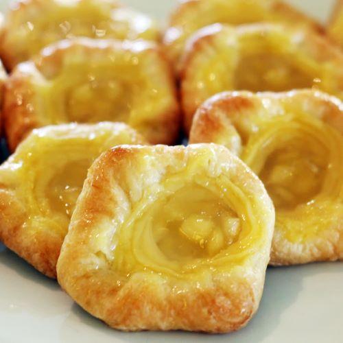 Lemon & Pecan Danish