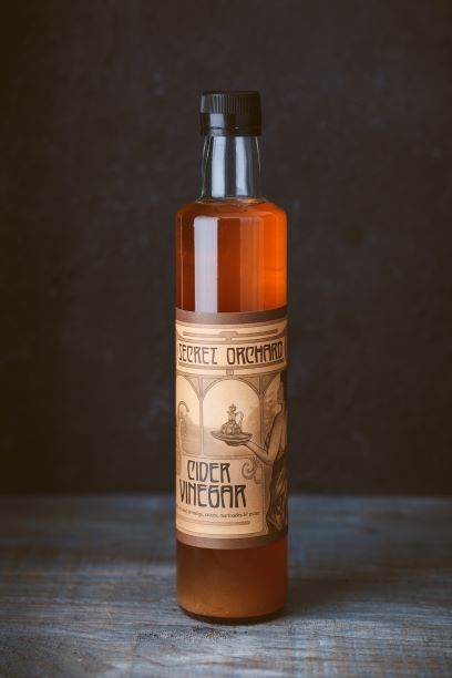 Secret Orchard's Raw Cider Vinegar