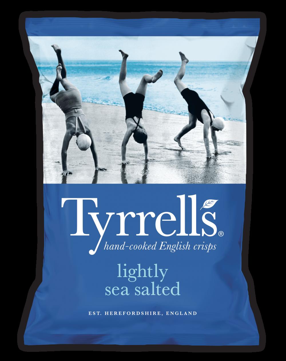Tyrrells - Lightly Sea Salted - 40g