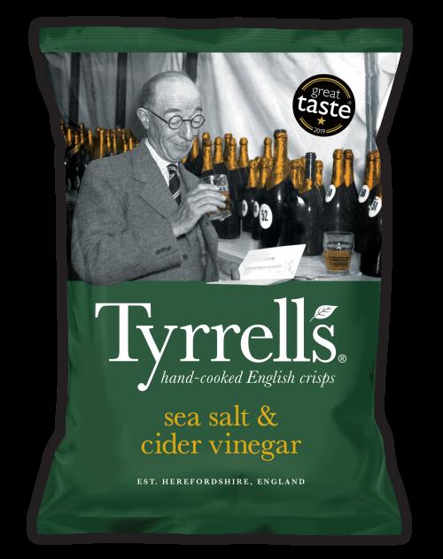 Tyrrells - Sea Salt & Cider Vinegar - 40g