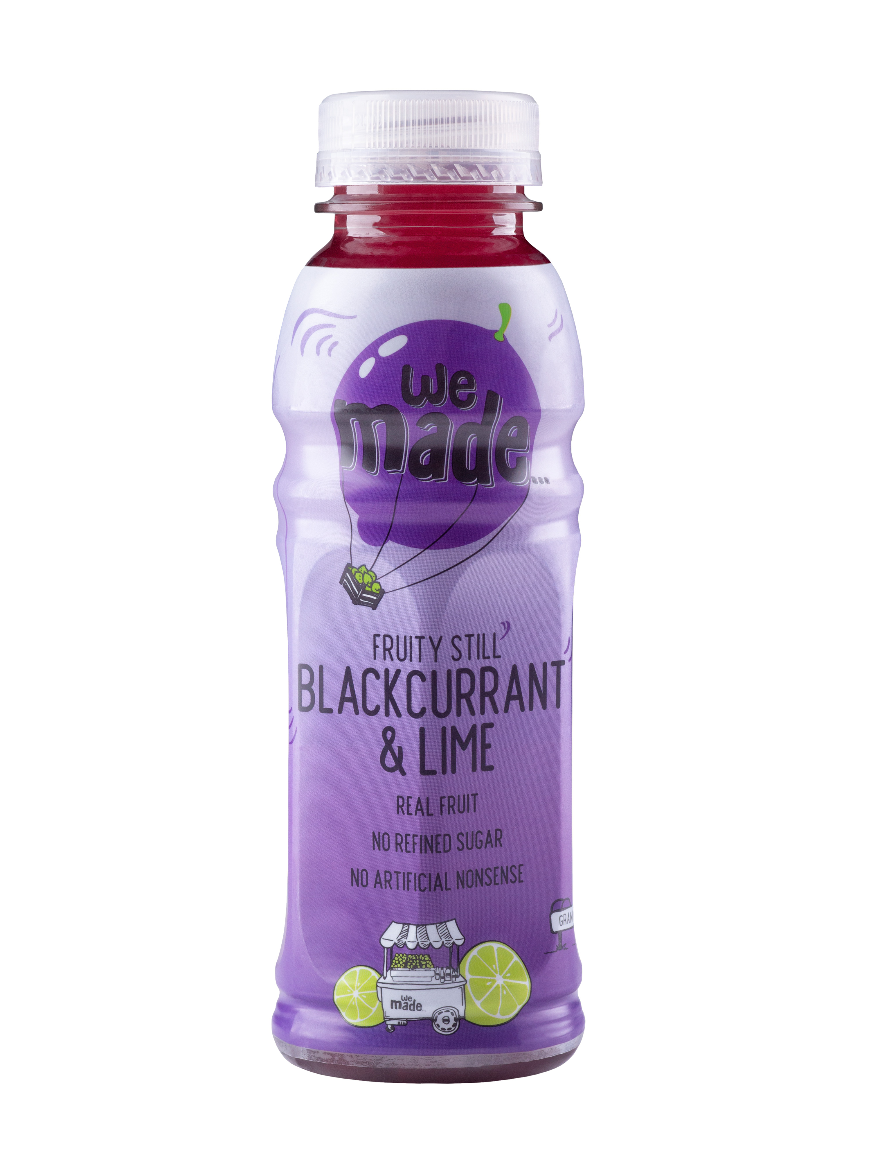 We Made...Blackcurrant & Lime - 330ml