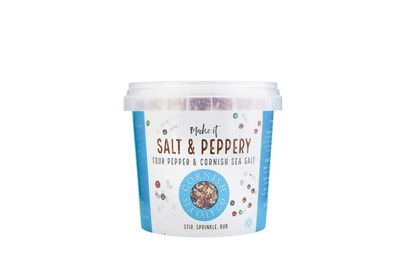 Cornish Sea Salt's Salt & Peppery Seasoning - 185g