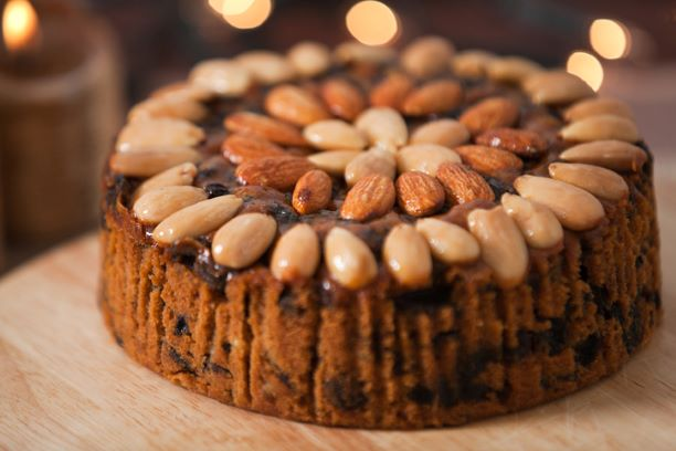 Traditional Dundee Cake. For delivery between 17th & 24th December