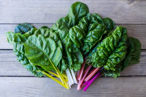 Local Farm Box Vegetables Rainbow Chard 250g