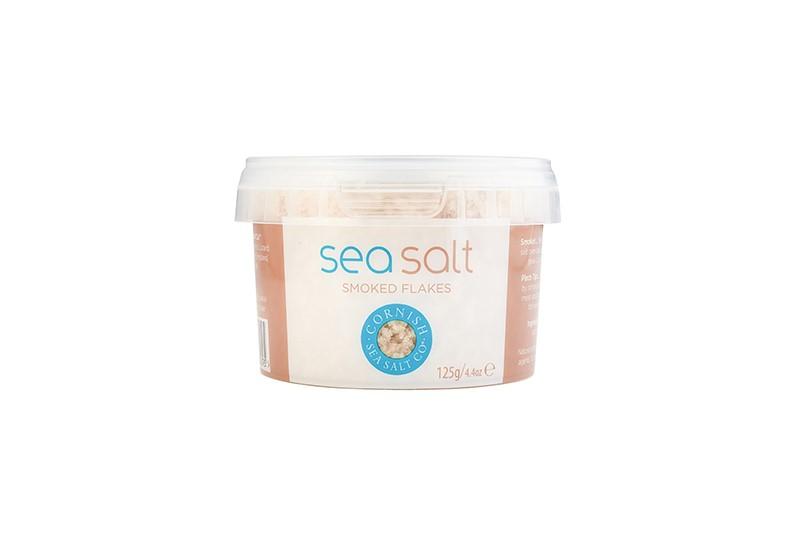 Cornish Sea Salt - Smoked Flake 50g