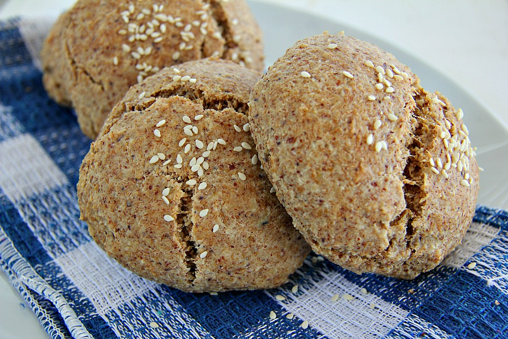 Wholemeal Rolls - Pack of 4