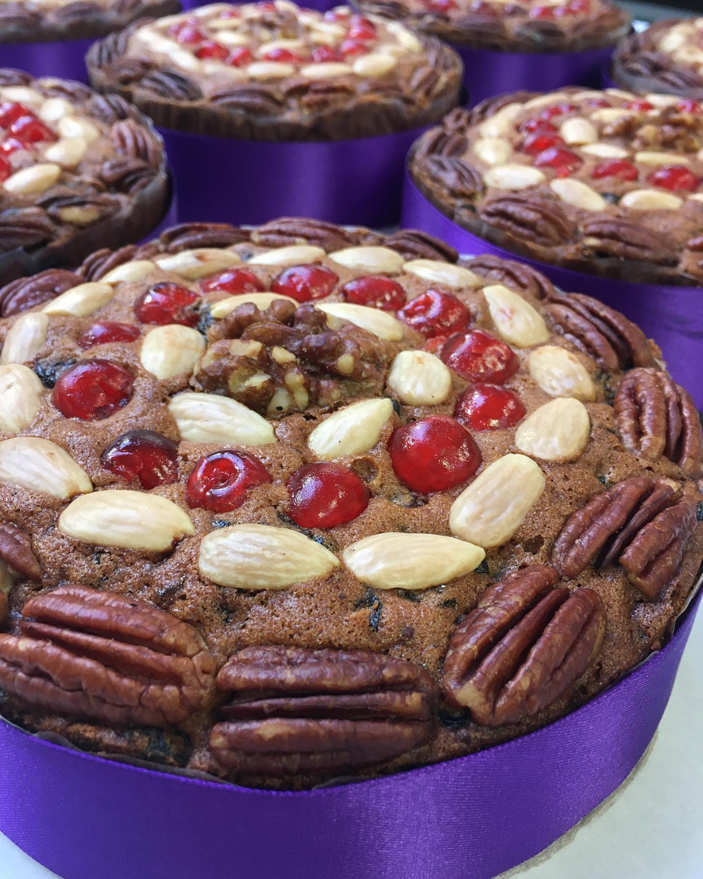 Dundee Cake - Cherry & Walnut - No Peel