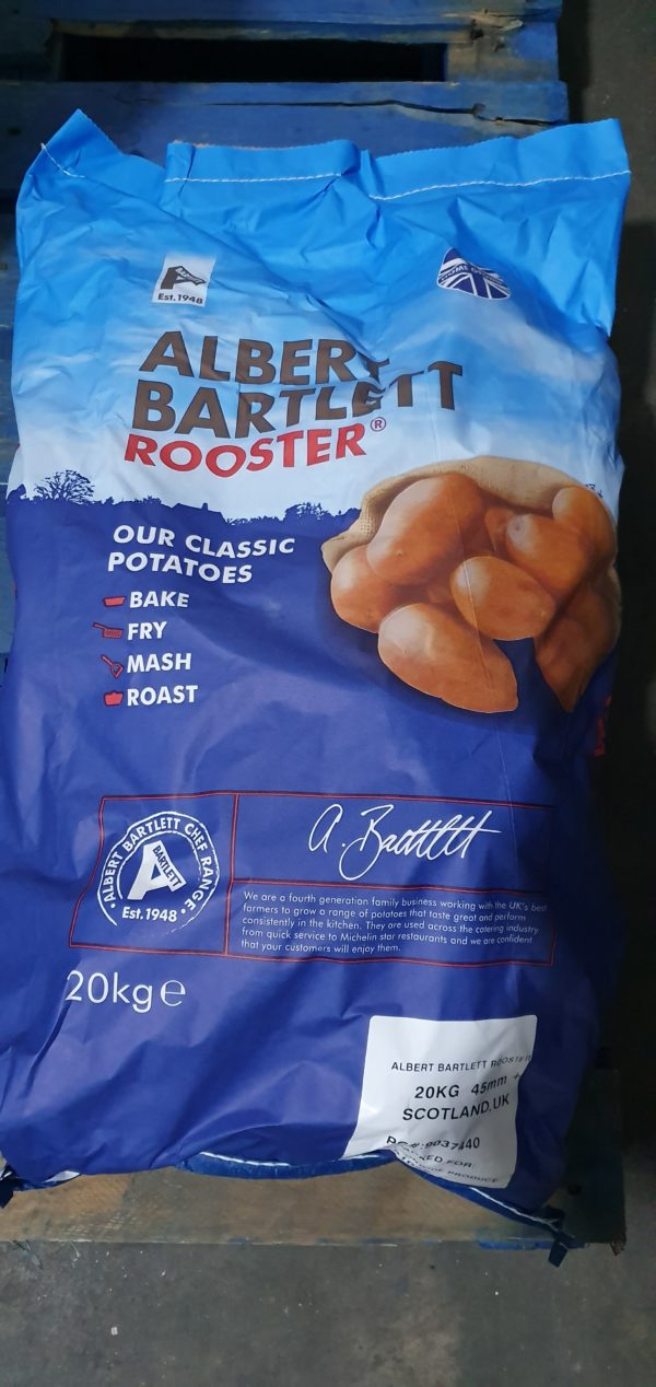 Albert Bartlett - Red Rooster Potatoes - 20kg