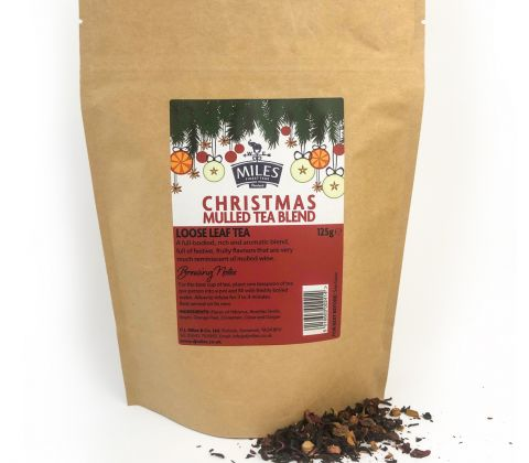 Miles Christmas Mulled Tea Blend - 125g