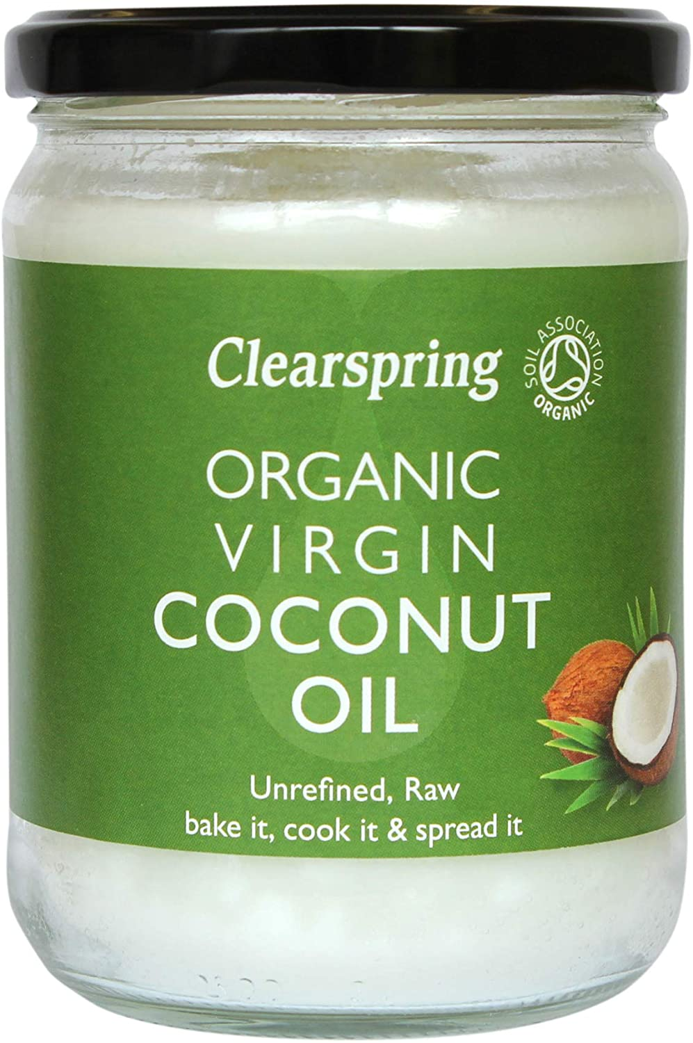 Clearspring Organic Coconut Oil (Unrefined & Raw) 400g