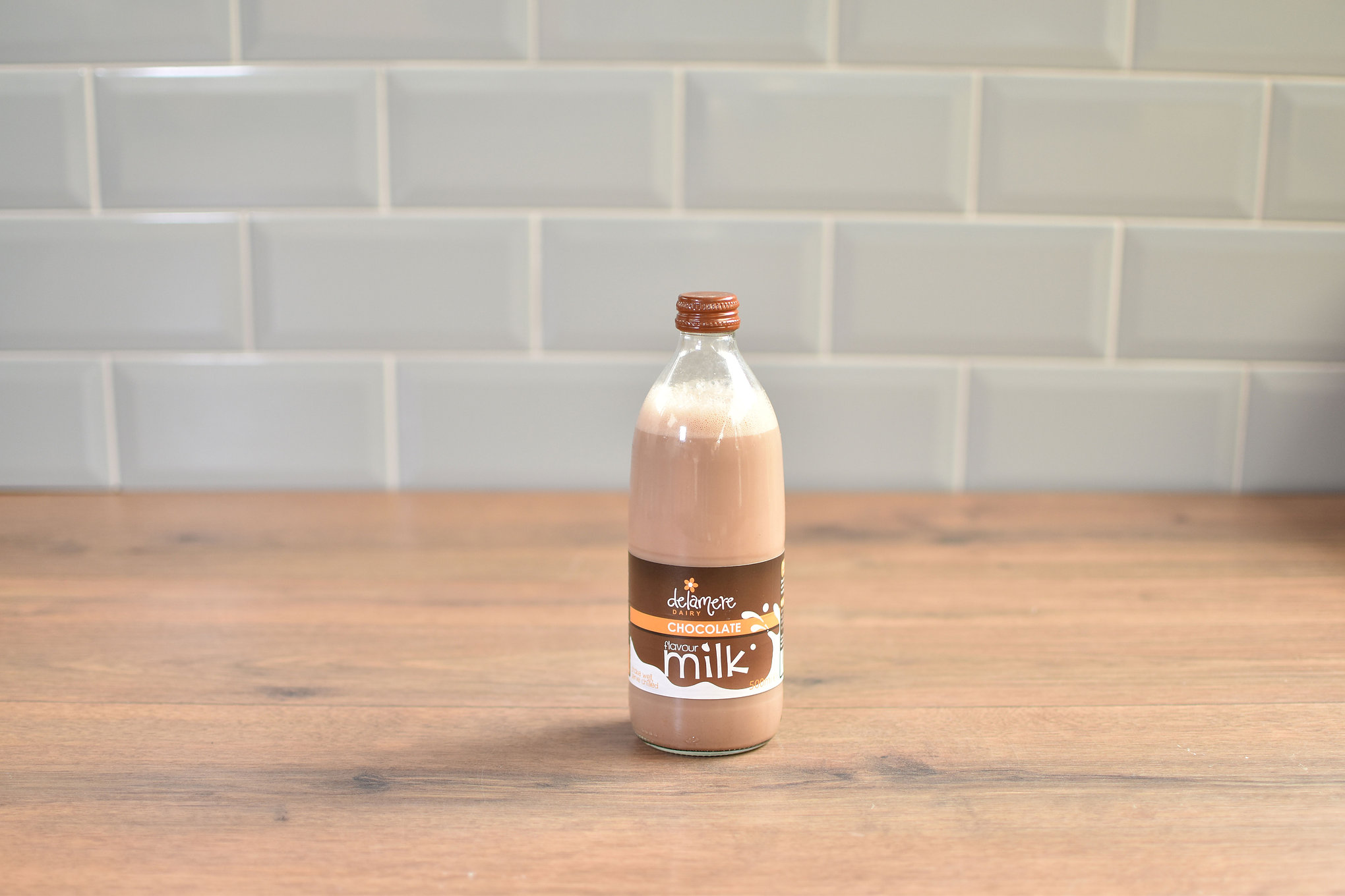 Delamere Chocolate Milk - 500ml Glass Bottle