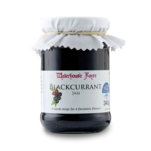 Waterhouse Fayre Blackcurrant Jam (340g)