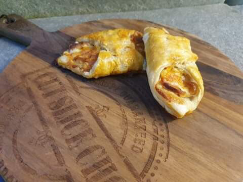 Bobbie's Bacon & Cheese Turnover