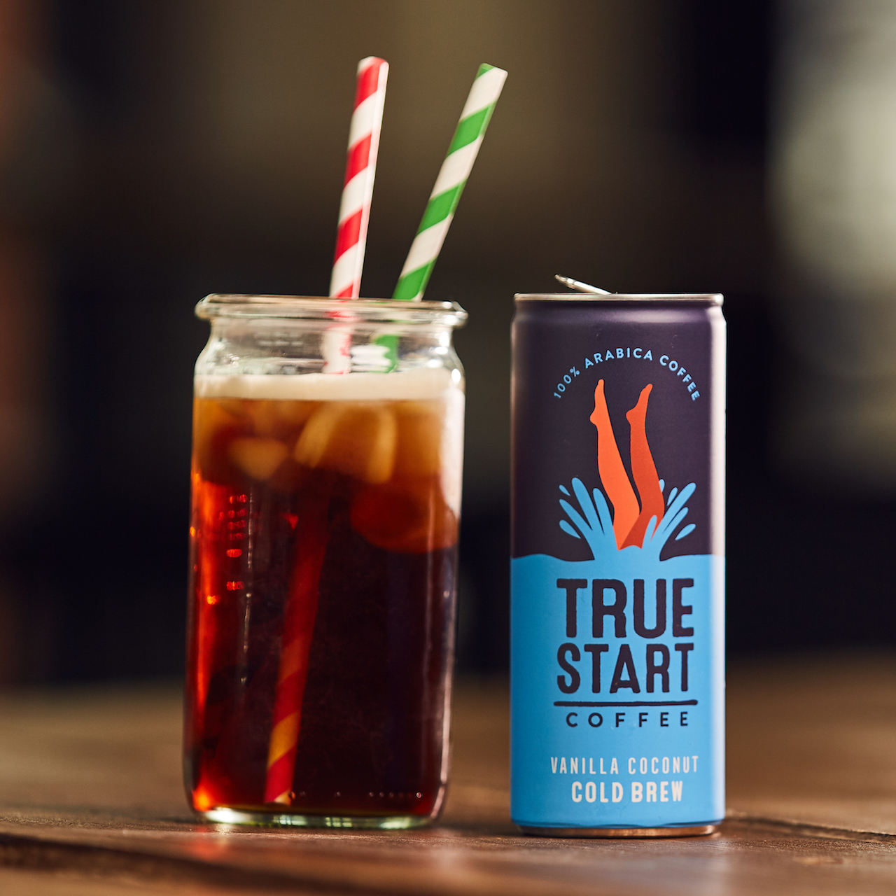 TrueStart Cold Brew - Vanilla Coconut - 250ml
