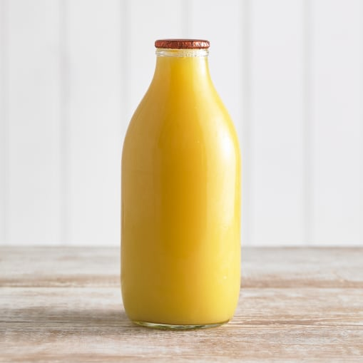 Glass Bottled Orange Juice - 1 pint