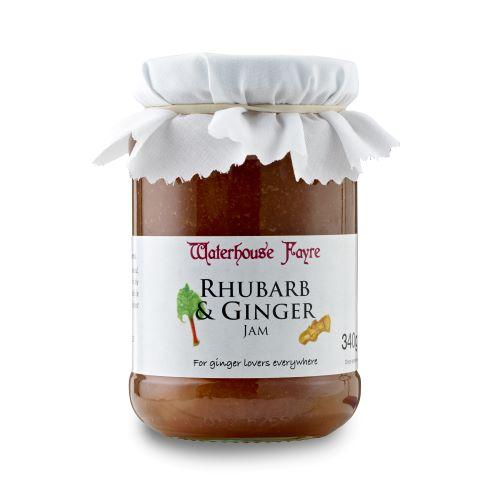 Waterhouse Fayre Rhubarb & Ginger Jam (340g)