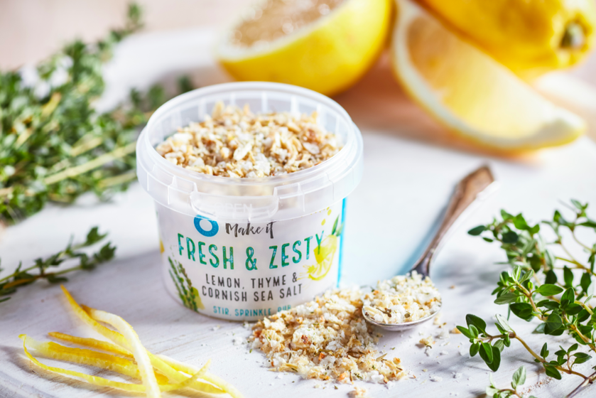 Cornish Sea Salt's Fresh & Zesty Seasoning - 55g