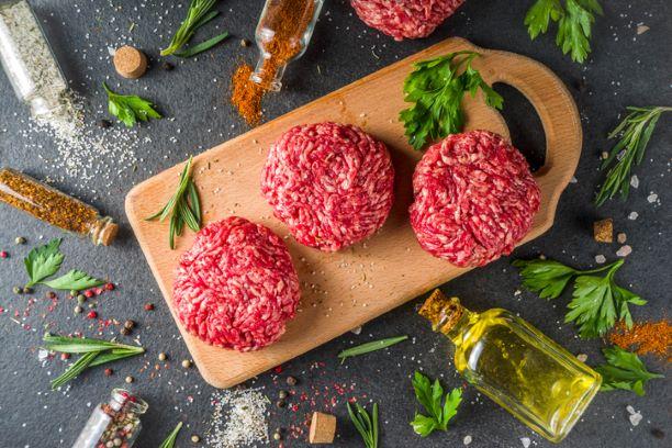 Gluten Free Beef Burgers 4 x 4oz