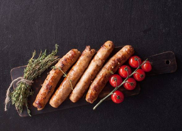 Sausages Pork Chipolatas - per 450g - 9 Sausages