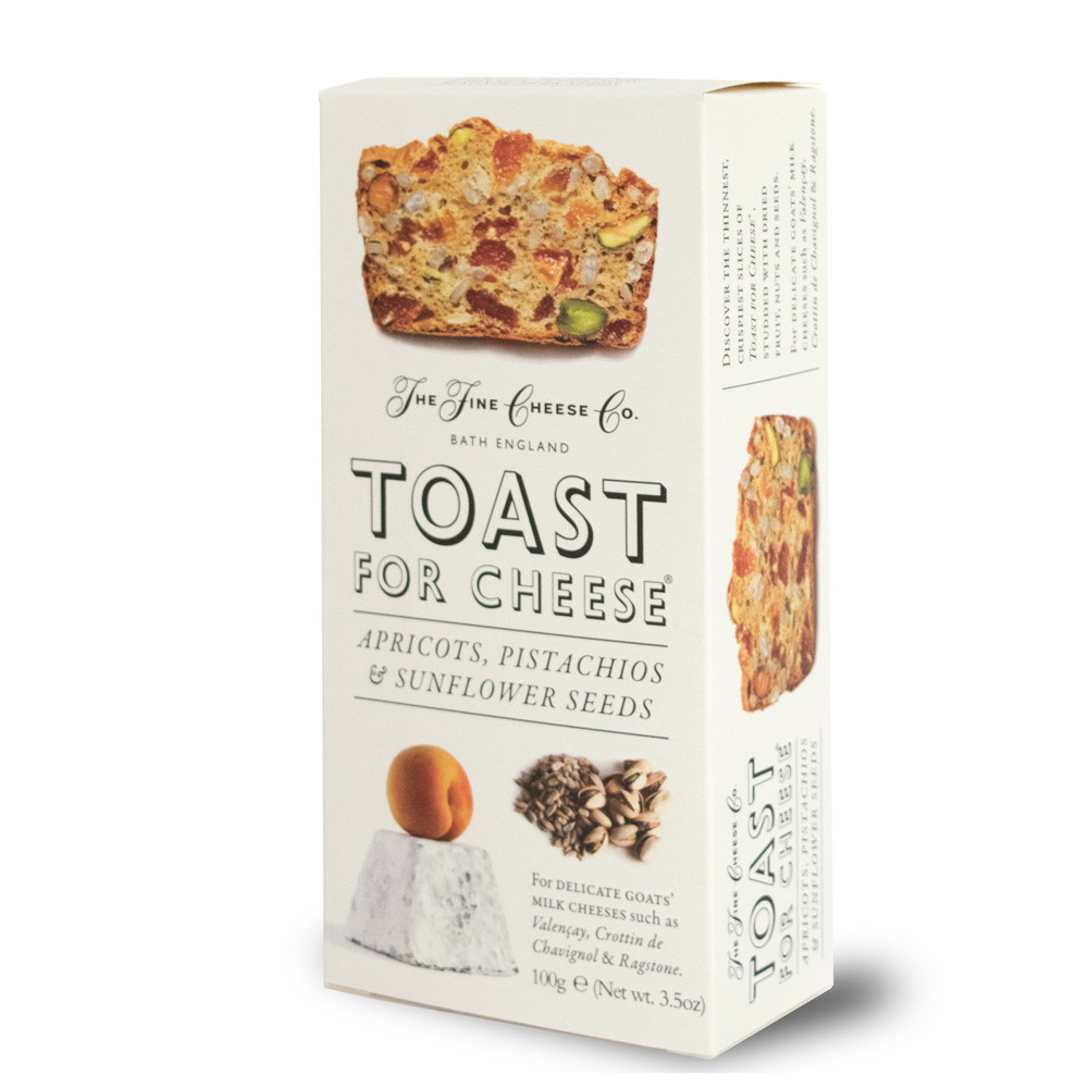 Toast for Cheese Apricots, Pistachios and Sunflower Seeds - 100g