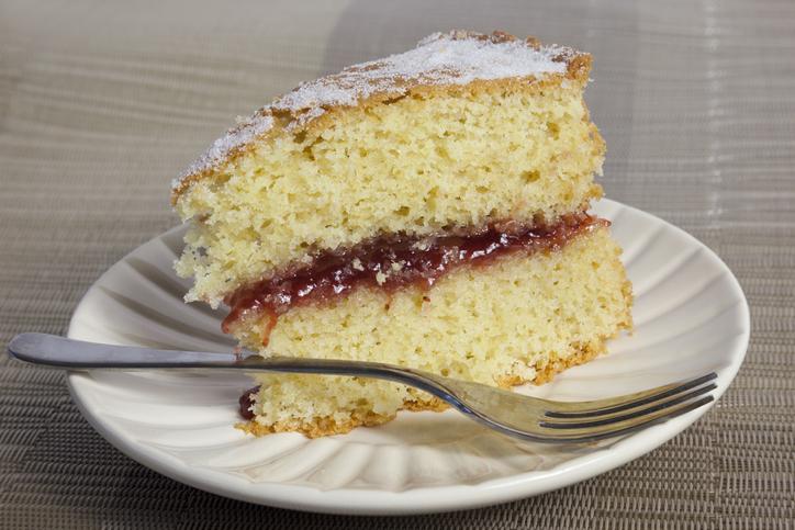 Jam Sponge Cake