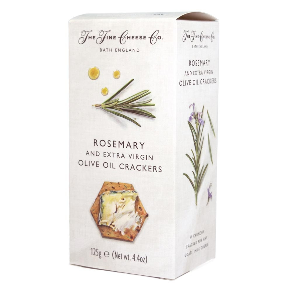 Rosemary and Extra Virgin Olive Oil Cracker -125g