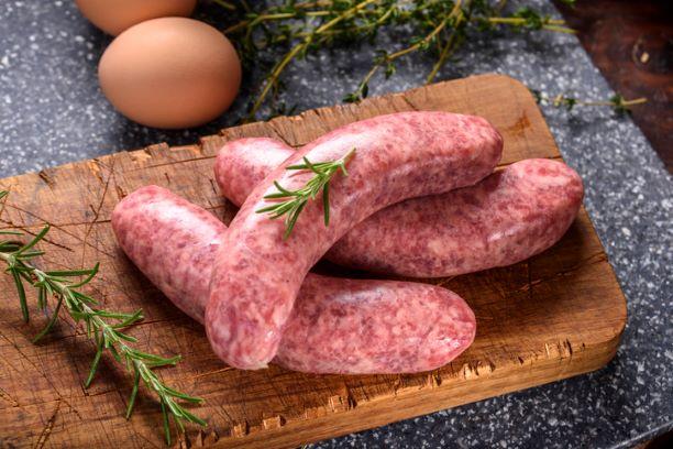 Sausages Pork Traditional - per 450g - 6 sausages