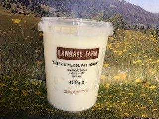 Langage Greek Style Natural Yoghurt - 450g