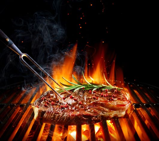 Peppered Sirloin Steak -6oz