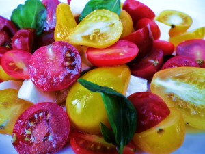 Doesn't get more local than this: Heritage/Heirloom Cherry Tomatoes - 200g
